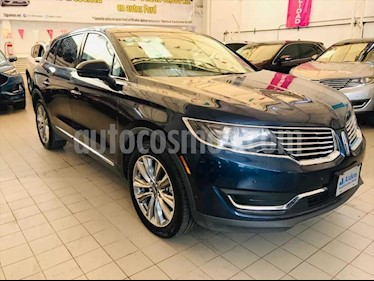 Lincoln MKX RESERVE usado (2017) color Azul Marino precio $525,500