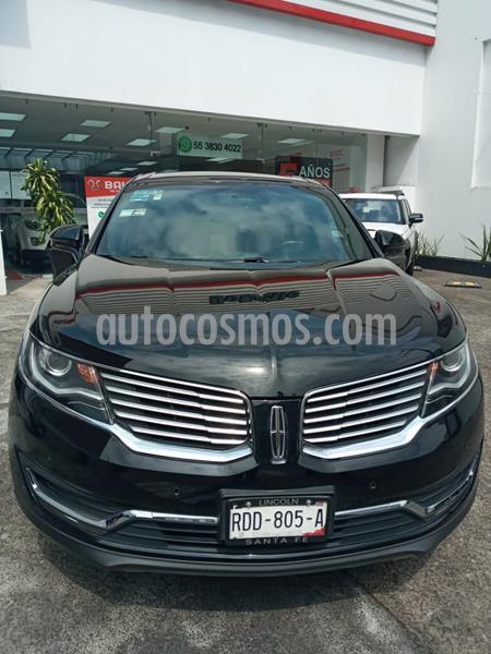 Lincoln MKX 2.7L 4x4 usado (2017) color Negro Profundo precio $499,000