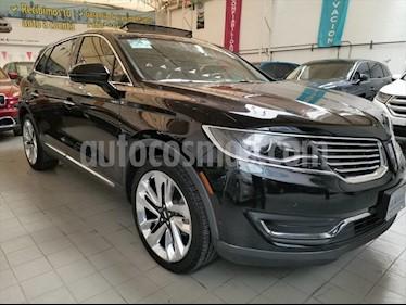 Lincoln MKX RESERVE usado (2018) color Negro precio $559,000