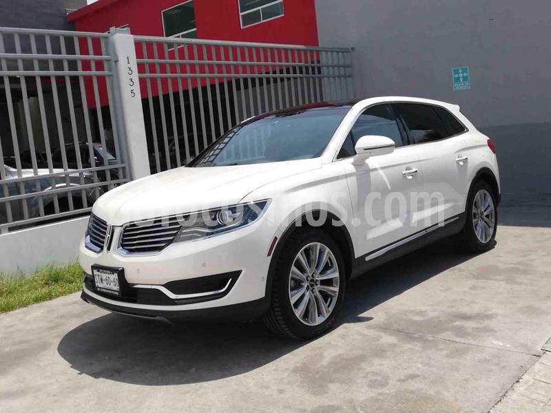 Lincoln MKX 3.5L 4x2 usado (2016) color Blanco precio $379,000
