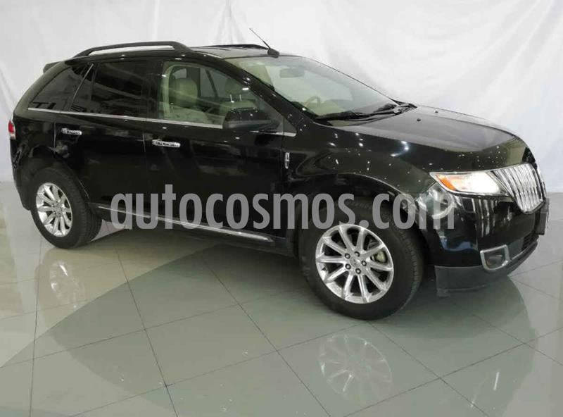 Lincoln MKX 3.5L 4x2 usado (2013) color Negro precio $240,000