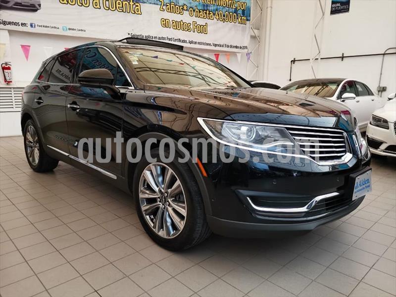 Lincoln MKX RESERVE usado (2016) color Negro precio $429,900