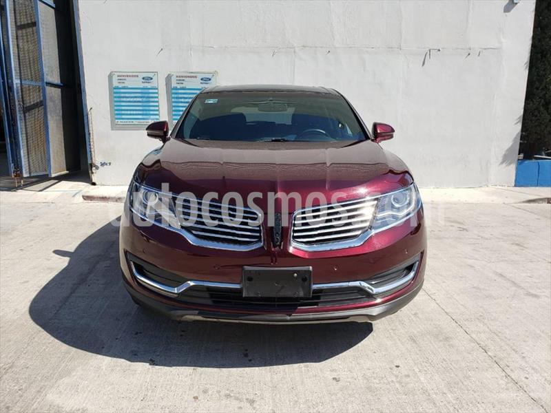 Lincoln MKX RESERVE usado (2017) color Rojo precio $550,000