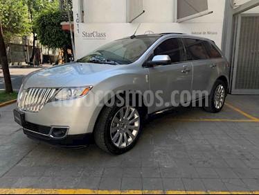 Lincoln MKX 5p V6 aut 4x4 AWD Premier piel q/c Nav usado (2013) color Plata precio $260,000