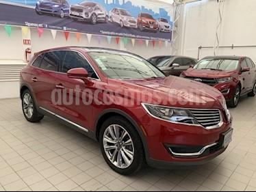 Foto venta Auto Seminuevo Lincoln MKX RESERVE  AWD (2016) color Rojo precio $528,000