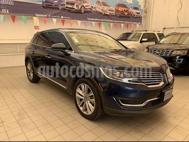 Foto venta Auto usado Lincoln MKX RESERVE  AWD (2017) color Azul precio $615,000