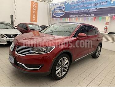 Foto venta Auto usado Lincoln MKX RESERVE  AWD (2016) color Rojo precio $468,000