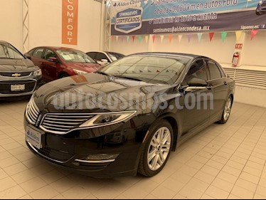 Foto venta Auto usado Lincoln MKZ High 2.0 T (2016) color Negro precio $348,000