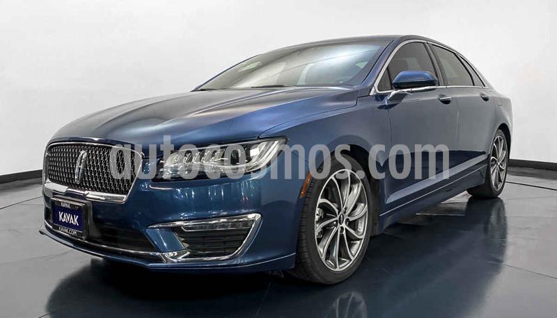 Lincoln MKZ Hibrido usado (2019) color Azul precio $494,999