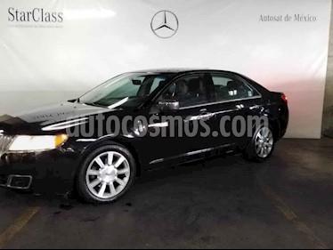 Lincoln MKZ 4p MKZ High usado (2012) color Negro precio $169,000