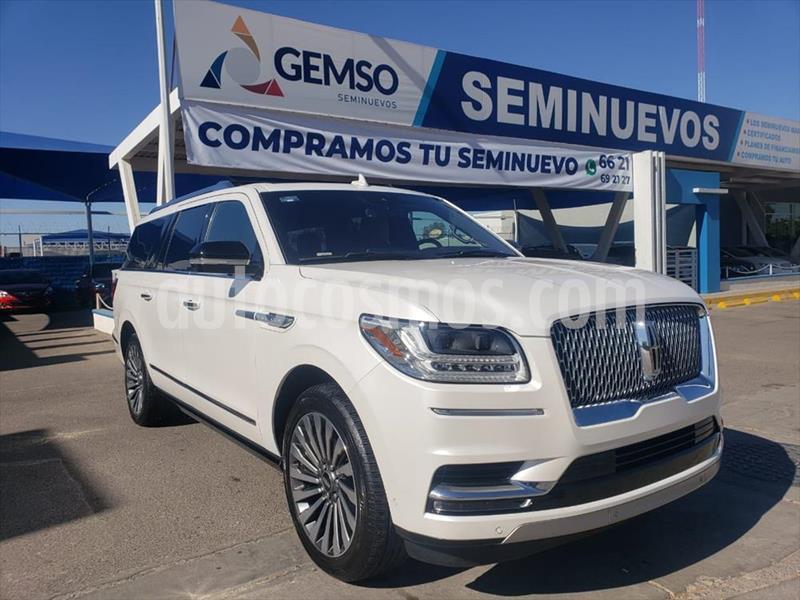 Lincoln Navigator Reserve Larga usado (2018) color Blanco precio $1,290,000
