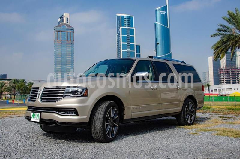 Lincoln Navigator Reserve Larga usado (2017) color Dorado precio $670,000