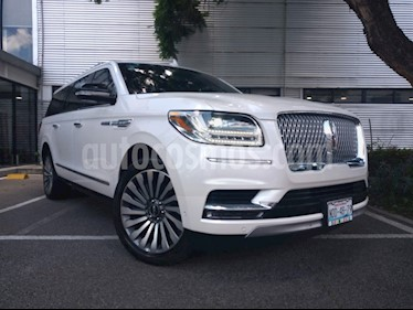 Lincoln Navigator Reserve Larga usado (2018) color Blanco precio $1,300,000