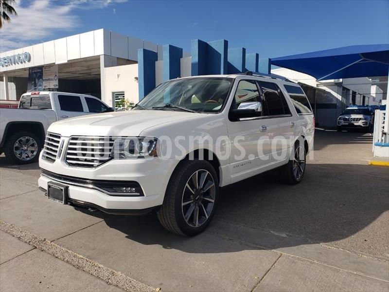 Lincoln Navigator 4X4 RESERVE usado (2017) color Blanco precio $595,000