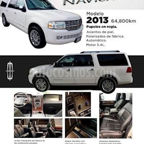Lincoln Navigator 5.4L 4x2 usado (2013) color Blanco precio $288