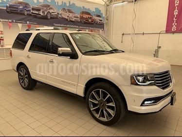 Foto venta Auto Seminuevo Lincoln Navigator RESERVE 4X4 (2017) color Blanco Platinado precio $805,000