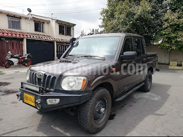 Mahindra Pick Up 2.2L 4x4 CD usado (2013) color Marron precio $37.500.000