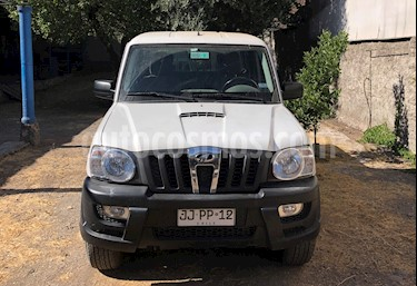 Mahindra Pik Up 2.2L DC 4x2 Full  usado (2017) color Blanco precio $7.990.000
