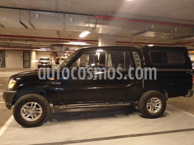Mahindra Pik Up 2.2L 4X2 Diesel Full XL CD usado (2013) color Negro precio $5.990.000