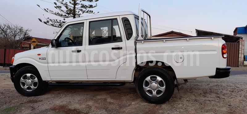 Mahindra Pik Up 2.2L 4X2 Diesel Full XL CD usado (2018) color Blanco precio $7.500.000