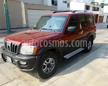Mahindra  Scorpio 2.2L CRD 4X4 usado (2011) color Rojo precio u$s8,700