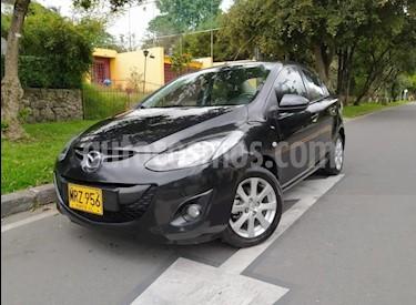 Mazda 2 Sedan 1.5L usado (2013) color Negro precio $29.700.000
