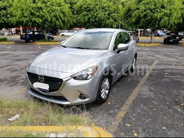 Mazda 2 Sedan i Touring Aut usado (2019) color Plata precio $245,000