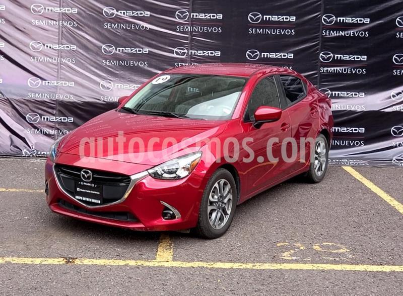 Mazda 2 Sedan i Grand Touring Aut usado (2019) color Rojo precio $240,000