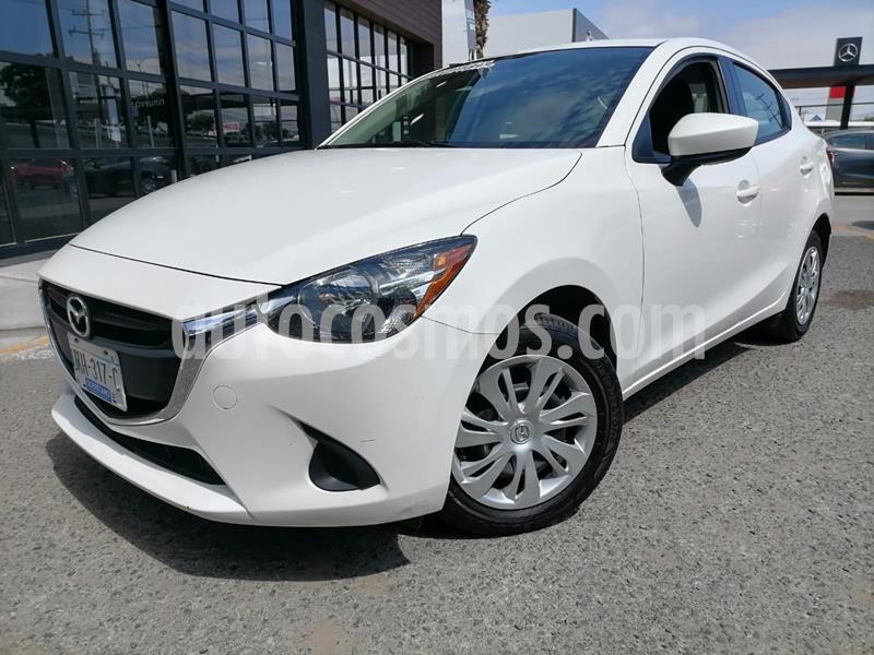 Mazda 2 Sedan i Aut usado (2019) color Blanco Perla precio $230,000