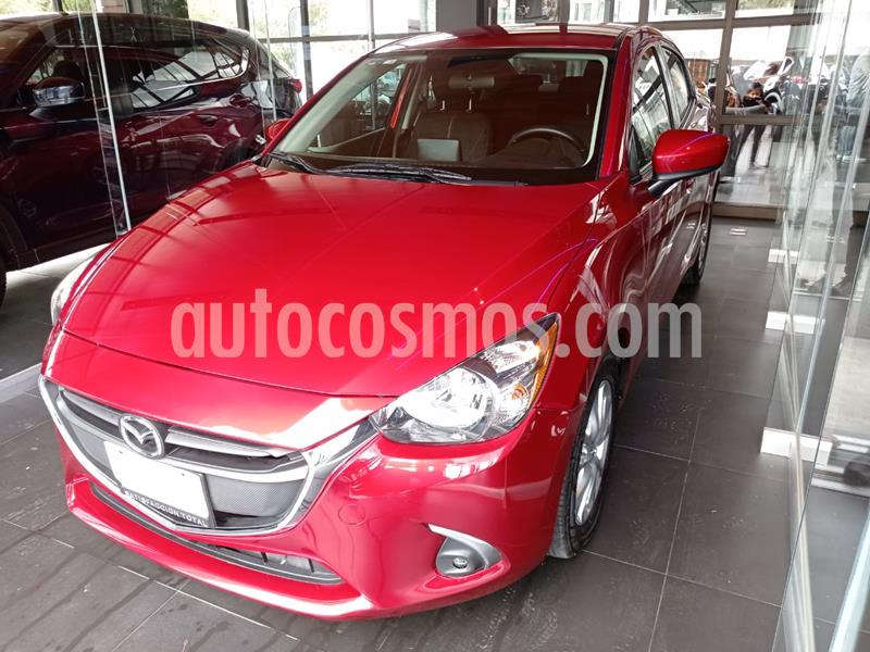 Mazda 2 Sedan i Touring Aut usado (2019) color Rojo precio $238,000
