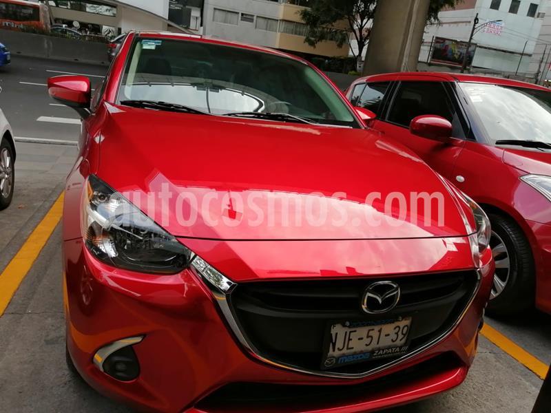 Mazda 2 Sedan i Touring usado (2019) color Rojo precio $240,000