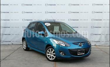 Mazda 2 Sedan i Touring usado (2015) color Azul precio $185,000