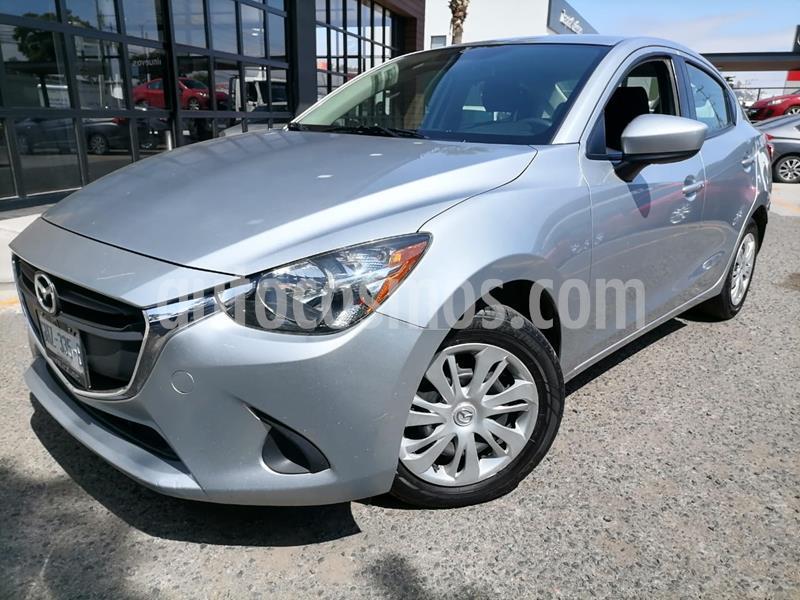 Mazda 2 Sedan i Aut usado (2019) color Plata Sonic precio $218,000
