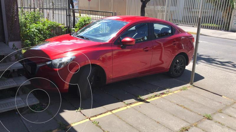 Mazda 2 Sedan 1.5 V 4P usado (2016) color Rojo precio $8.400.000