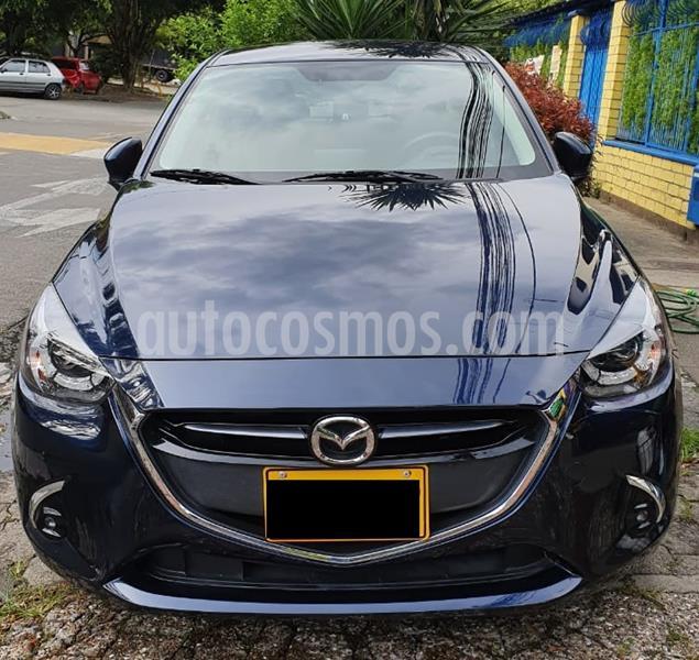 Mazda 2 Grand Touring LX Aut   usado (2019) color Azul precio $54.000.000