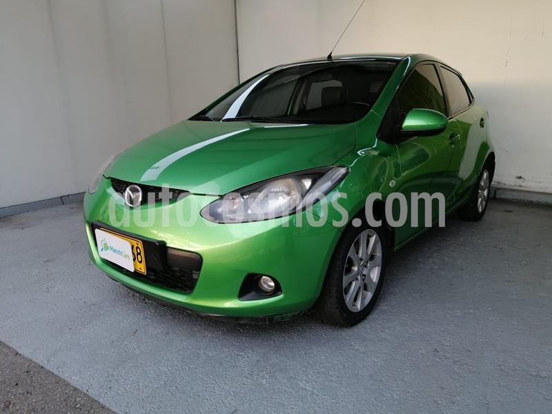 Mazda 2 1.5 Aut 5P usado (2010) color Verde precio $21.990.000