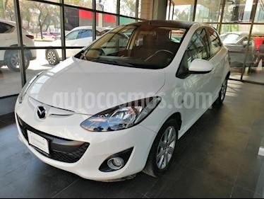 Foto venta Auto usado Mazda 2 i Touring Aut (2015) color Blanco Perla precio $145,000