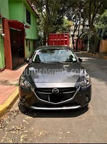 Foto venta Auto usado Mazda 2 i Touring Aut (2017) color Gris Meteoro precio $195,000