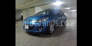 Mazda 2 Sport Aut usado (2014) color Azul precio $126,000