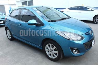 Mazda 2 5p Touring L4/1.5 Aut usado (2014) color Azul precio $140,000