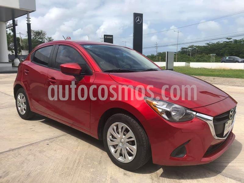Mazda 2 i usado (2016) color Rojo precio $150,000