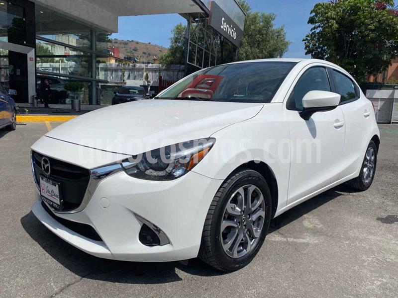 Mazda 2 i Grand Touring Aut usado (2018) color Blanco precio $225,000