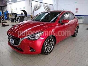 Mazda 2 5P HB I GRAND TOURING TA A/AC. AUT. VE PIEL F. LE usado (2016) color Rojo precio $195,000