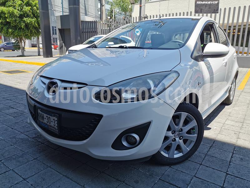 Mazda 2 Touring Aut usado (2012) color Blanco precio $120,000