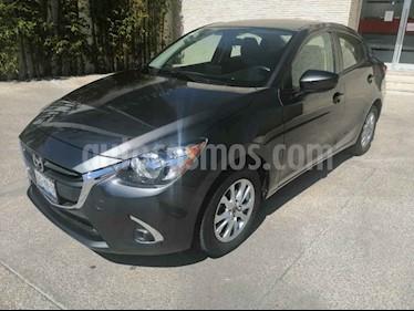 Mazda 2 4p i Touring L4/1.5 Aut usado (2019) color Gris precio $257,000