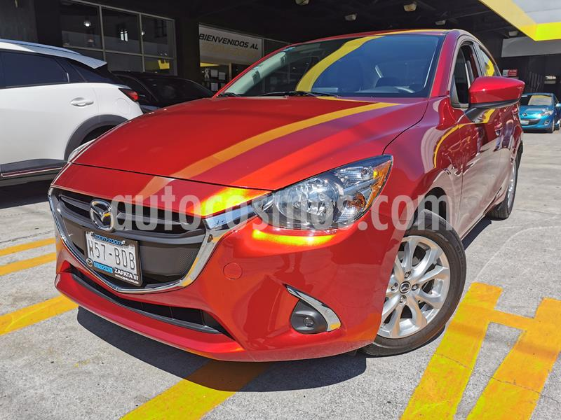 Mazda 2 i Touring Aut usado (2019) color Rojo precio $250,000