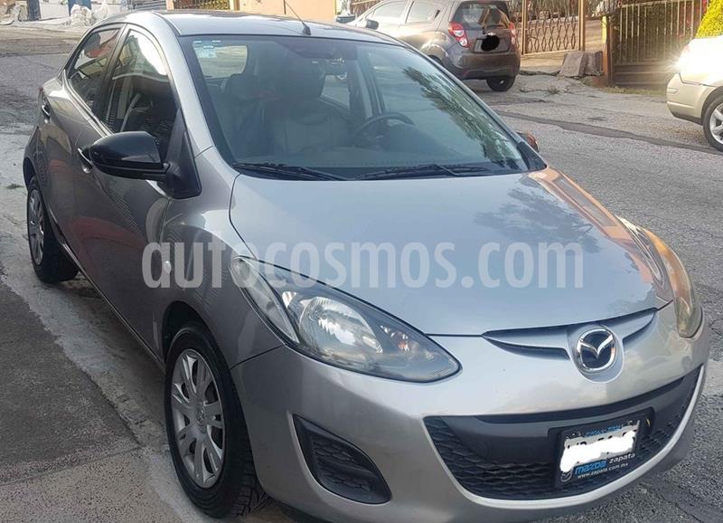 Mazda 2 Touring Aut usado (2013) color Plata precio $135,000
