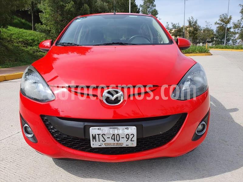 Mazda 2 Touring Aut usado (2015) color Rojo precio $155,000