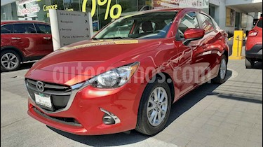Mazda 2 4p i Touring L4/1.5 Aut usado (2019) color Rojo precio $249,000
