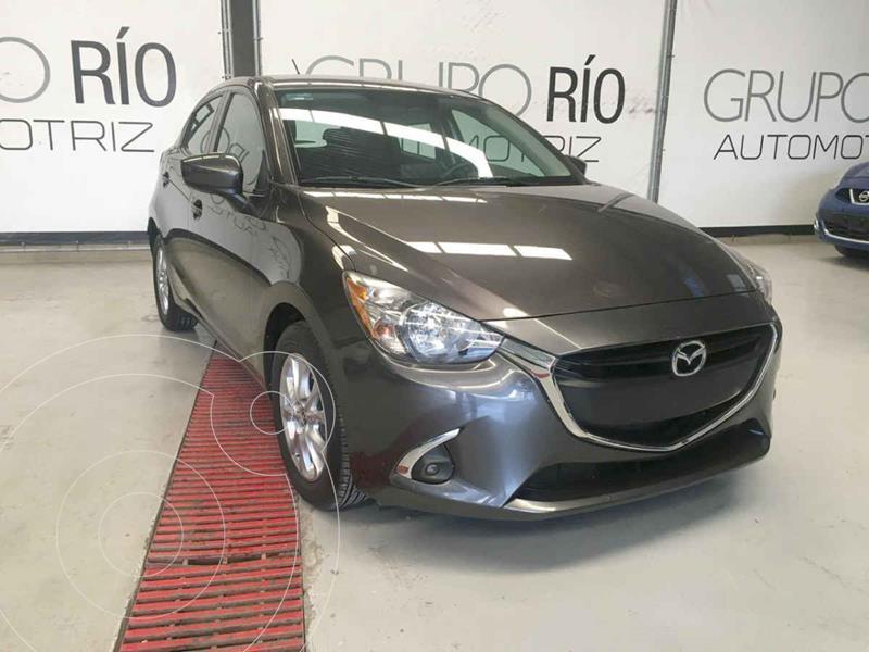 Mazda 2 i Touring Aut usado (2018) color Gris precio $199,000